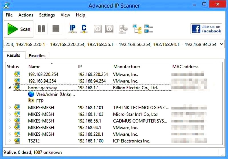 Advanced ip scanner - about us Famatech software programs are