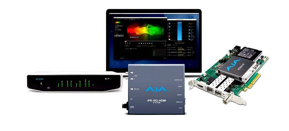 Aja introduces new solutions for ip workflows at nab 2017 - top tales - news - aja video systems IPT-1G