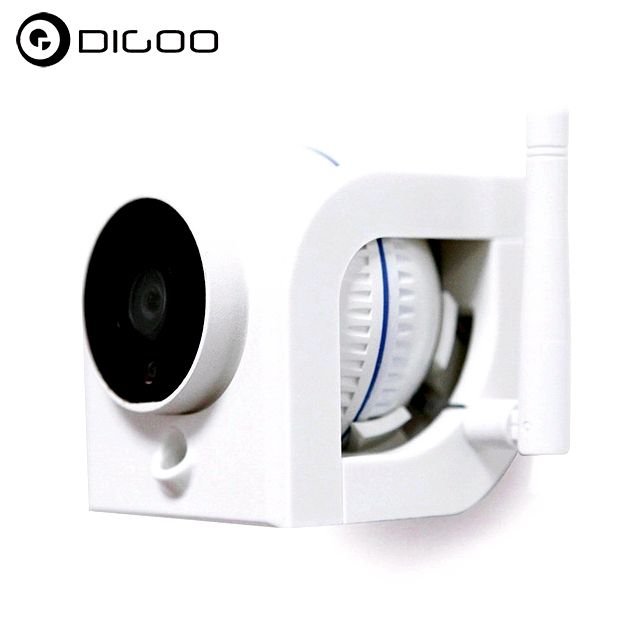 Digoo dg-w02f cloud storage 3.6mm lens 720p waterproof outside wireless security ip camera motion recognition alarm support onvif monitor NVR, Sdcard or