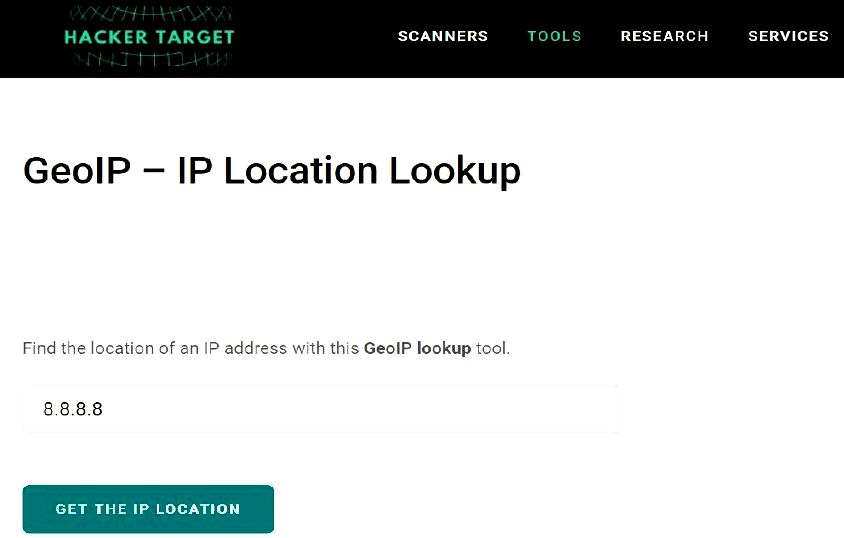 Geolocation with geoip akin to the