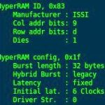 Hyperram: utilizing a hyperbus memory interface nick