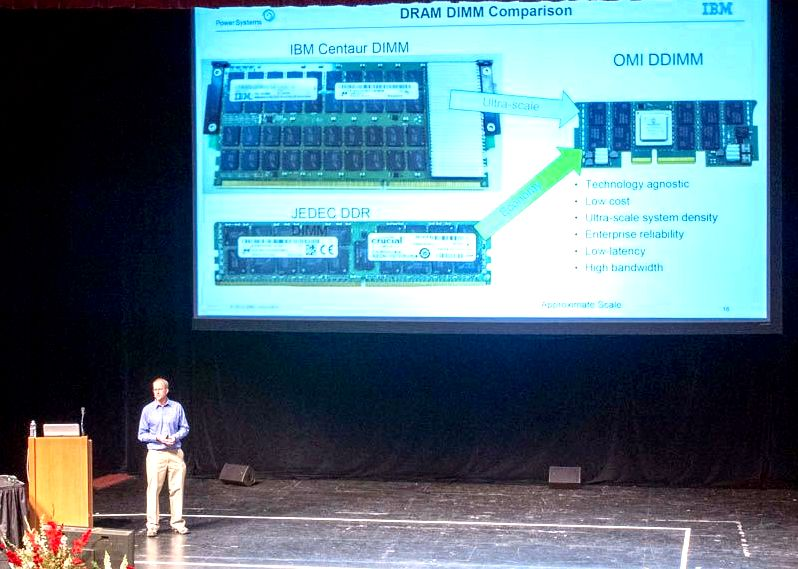 IBM Power9 Talk At Hot Chips 31 OMI DIMM Evolution