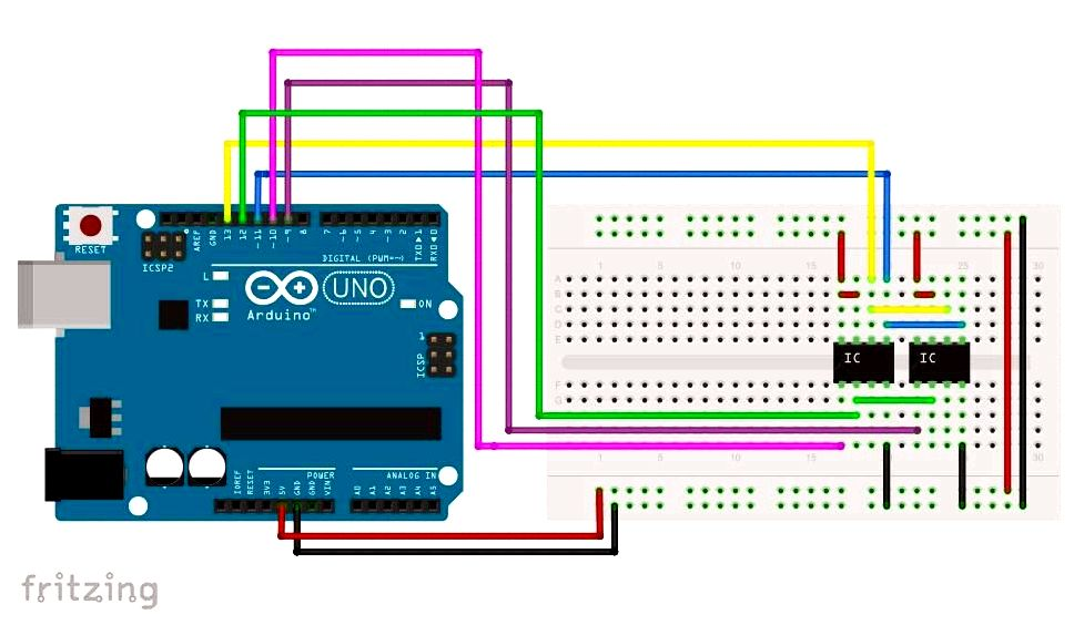Interface an sram bus for your arduino: 3 steps To create to