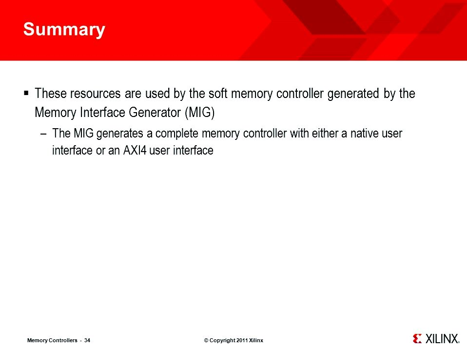 Memory interface - a summary knowledge operations to SRAM
