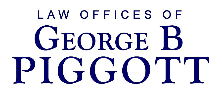 Now in ip - what the law states offices of george b. piggott to three