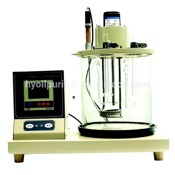 Oil testing instrument oxidation characteristics of distillate