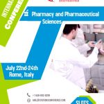 Pharmaceutical sciences conferences 2019