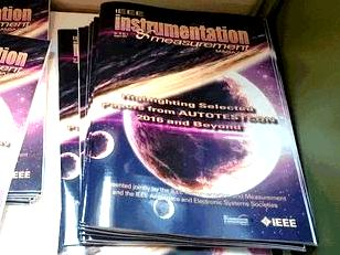 IEEE I&ampM Magazine published our technical paper