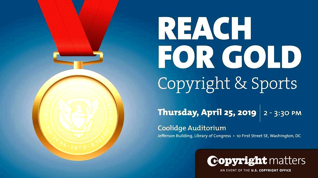Save the Date: World Intellectual Property Day 2019, Reach for Gold: Copyright and Sports